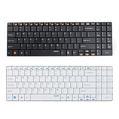 billiga Keyboards-E9070 Trådlös Trådlös 2,4 GHz 99 Multimedia Keyboard AAA Batteri driven