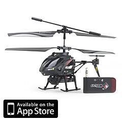baratos Helicópteros RC-Helicóptero com Controle Remoto com camera 0.3 Megapixel para iPhone, iPad e Androis
