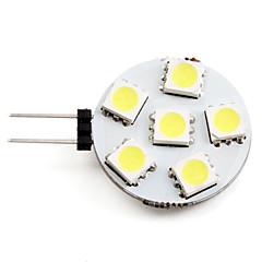 billiga Heminredning-2 W 2700 lm G4 LED-spotlights 6 LED-pärlor SMD 5050 Naturlig vit 12 V / #