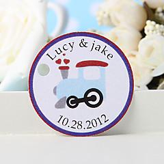 billige Klistremerker og etiketter-personlig favorithjelp - motor (sett på 36) bryllup favoriserer vakkert