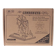 DIY Solar Power Energy Self Assembly Puiset London Eye Ferris Wheel Kit