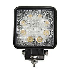 tanie Oświetlenie pomocnicze-Samochód Żarówki 24W W lm 8 Lampka sufitowa Światła przeciwmgielne