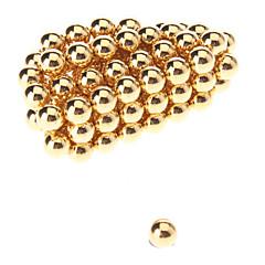 Brinquedos Magnéticos Blocos de Construir Bolas Magnéticas 50 Peças 5mm Brinquedos Imã Magnética Esfera Dom