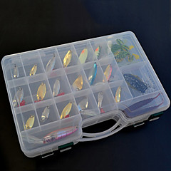 Hard Baits/Soft Baits/Metal Baits Fishing Lure Set (138 pcs)