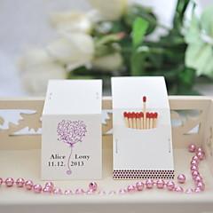 Χαμηλού Κόστους Εξατομικευμένα Σπιρτόκουτα-Γάμου / Πάρτι Υλικό Hard Card Paper Διακόσμηση Γάμου Κλασσικό Θέμα / Γάμος Όλες οι εποχές