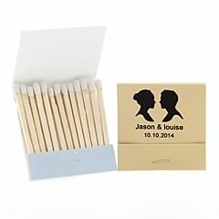 Χαμηλού Κόστους Εξατομικευμένα Σπιρτόκουτα-Σκληρό χαρτόνι Διακόσμηση Γάμου-12Piece / Σετ Εξατομικευμένο Δεν περιλαμβάνονται τα σπίρτα.