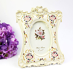 cheap Frames & Albums-Floral Theme Resin Photo Frames Floral Theme