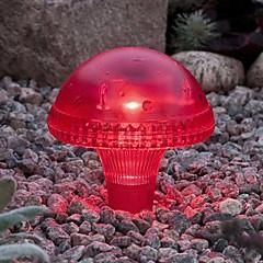1PCS Witte LED Solar Garden Light Gazon Licht In Mushroom Shape