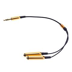 hesapli -IPhone Rose için 3.5mm kulaklık Splitter Kablosu