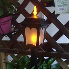 3PCS Geel LEDs waterdicht op zonne-tuin licht gazon licht