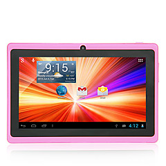 7 inch 1024*600 A33 8GB Android 4.4 Dual Camera Wifi Tablet PC(Assorted Colors)