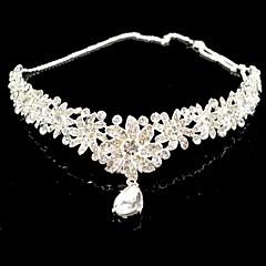 cheap Party Headpieces-Crystal / Rhinestone Tiaras 1 Wedding / Special Occasion Headpiece