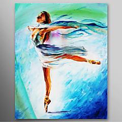 iarts®hand festett olajfestmény az emberek a lány tánc balett feszített keret készen áll, hogy lefagy