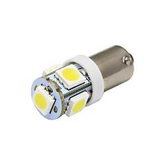 hesapli -BA9S Araba Beyaz 1W SMD 5050 5000-5500 Gösterge Işıkları Okuma Işığı Plaka Aydınlatma Lambası Sinyal Lambası Fren Işığı Çift Taraflı lamba