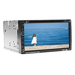 billiga DVD-spelare till bilen-6.95 tum 2 Din Windows CE 6.0 / Windows CE In-Dash DVD-spelare Inbyggd Bluetooth / GPS / iPod för Stöd / Upp till 16 GB / TF-kort / RDS