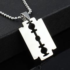 Муж. Ожерелья с подвесками Бижутерия Нержавеющая сталь Титановая сталь Уникальный дизайн бижутерия Мода Бижутерия Назначение Для