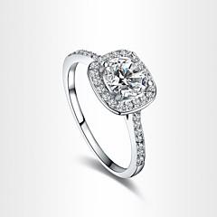 levne -Prsteny s kamenem Zirkon Pozlacené imitace Diamond Slitina Módní Barva obrazovky Šperky Párty 1ks