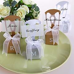 papel de cartão criativo favor titular com caixas de favor-36 favores de casamento
