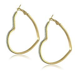 cheap Earrings-Women's 1 Drop Earrings Alloy Heart Jewelry Costume Jewelry