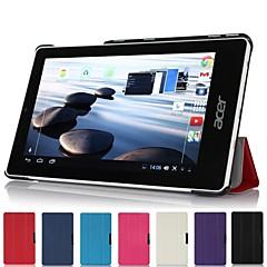 """billige Nettbrettetuier-slank folde hardt skall stå lærveske deksel for Acer Iconia en 7 """"b1-740 tablett"""