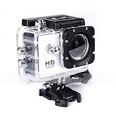 cheap Sports Action Cameras-SJ4000 Sports Action Camera 12MP 4000 x 3000 Anti-Shock Waterproof All in One 1.5 CMOS 32 GB English French German Spanish Russian