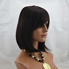 cheap Wigs & Hair Pieces-12inch capless short high quality synthetic straight soft hair wig mix 2 33 2 30