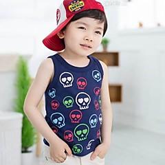 tanie Odzież dla chłopców-Tanktop / koszulka na ramiączkach-Chłopca-Lato-Nadruk-Bawełna