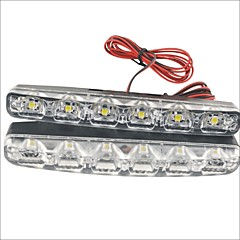 cheap Daytime Running Lights-Car Light Bulbs 3W W SMD LED 90lm lm 6 LED Daytime Running Light