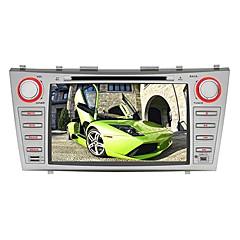 billiga DVD-spelare till bilen-8 tum Windows CE 6.0 GPS / Pekskärm / Inbyggd Bluetooth för Toyota Stöd / iPod / Rattstyrning / Subwoofer-utgång / Spel / SD / USB-stöd
