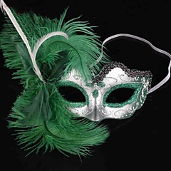 Kostra / Czaszka Maska Dámské Halloween Den smrti Festival / Svátek Halloweenské kostýmy Jednobarevné