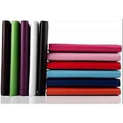 billige Nettbrettetuier-lichee mønster 360 graders rotasjon med stativ tilfelle for 10 tommers tablet (assorterte farger)