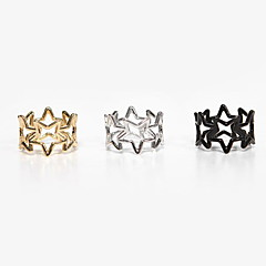 cheap Rings-Women's Alloy Ring With Star Wedding Party Elegant Feminine Style