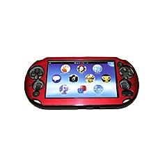 voordelige PS Vita-accessoires-kleurrijke aluminium huid beschermende beschermhoes voor ps vita psv pch-2000