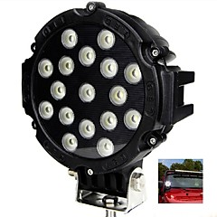 """cheap Vehicle Working Light-Liancheng® 6.3"""" 51W 5100Lumens Super Bright LED Work Light for Off-road,Tractor,UTV,4WD,SUV"""