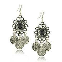 květinový vzor Boho gypsy oblázkovitý etnické kmenové festival šperky turečtina bohémský earringsa