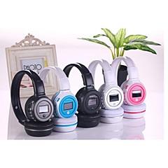 billiga Over-ear-hörlurar-Över örat Trådlös Hörlurar Plast Mobiltelefon Hörlur Med volymkontroll / mikrofon headset