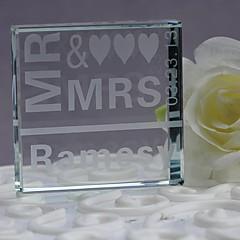 billige Kakedekorasjoner-kake topper krystall bryllupsdagen med gaveeske bryllupsreise