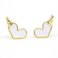 cheap Earrings-Fashion Alloy Drip Love Fashion Earrings(More Color) Elegant Style