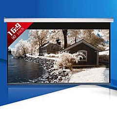 1080P 90 Inch 16:9 Motorized Projector Screen
