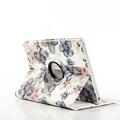 billige Nettbrettetuier-Spesielt Design - 360⁰ Cases/Origami Cases - Eple iPad Air - (PU / Lær , Rød/Svart/Gul/Grå)