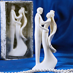 Taarttoppers Niet-persoonlijk Keramisch Bruiloft / Bruidsshower Wit Tuin Thema Cadeauverpakking