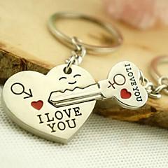 romanttinen häät avaimenperään avaimenperä rakastaja Ystävänpäivä (yksi pari)
