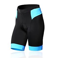 SPAKCT Dame Cykelshorts med indlæg Cykel Shorts / Tights / Trøje 3D Måtte, Åndbart, Komprimering Patchwork, Klassisk Nylon, Spandex Sort