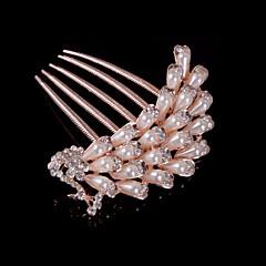 baratos Acessórios de Cabelo-Mulheres Menina das Flores Liga Capacete-Casamento Ocasião Especial Casual Pentes de Cabelo