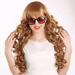 cheap Wigs & Hair Pieces-the new cos long curly wig euramerican fashion golden hair Halloween