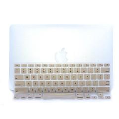 """Gold-Kunststoff-ultradünne weiche Tastaturschutz-Abdeckungshaut für macbook pro 13.3 / 15.4 """""""
