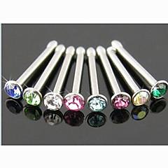 billige Kropssmykker-Krystall Nese Ring / Nesestud / Nesepiercing / Nesepiercing - Krystall, Fuskediamant Unikt design, Mote Dame Kroppsmykker Til Daglig / Avslappet