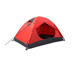 Makino 2 Persoons Tent Dubbel Kampeer tent waterdicht Sneldrogend Ademend voor Wandelen Kamperen Voor buiten 2000-3000 mm Oxford CM