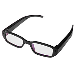 hd 1080p dual knapp materialet plast briller kamera videokamera automatisk