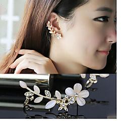 Ear Cuffs Kamienie zodiakalne luksusowa biżuteria Żywica sztuczna Diament Stop A B Biżuteria Na Ślub Impreza Codzienny Casual 1szt